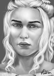 Daenerys, Wheel breaker and no longer a Khaleesi by noodlepredator