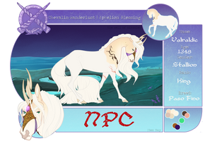 CW | Valraldic | Aphelion Blessing | King | NPC by pony-bones