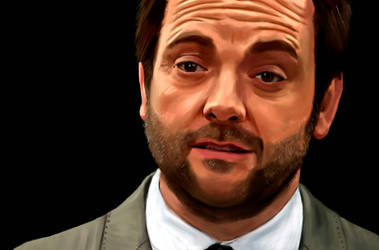 Mark Sheppard by Aakami