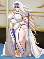 Sword maiden by miramiraclerun