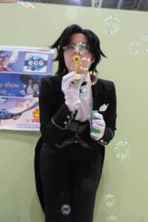 His Butler x Bubbles :3 by Sutcliff-Senpai