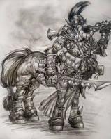 Centaur by Zaefyr