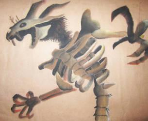 Twilit Fossil by imyourfinalfantasy