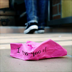I miss you by Alephunky