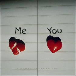 Me - You by Alephunky
