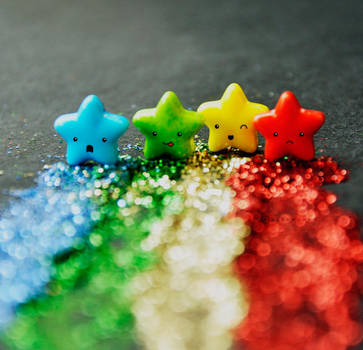 Falling stars by Alephunky