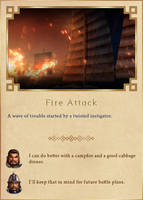 Fire Attack by Rydain