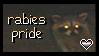 rabies pride stamp by finnstamps