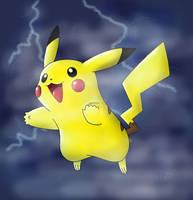 Pikachu by Jfrancee