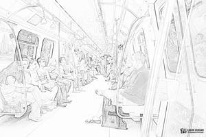 Metro by Mottcalem