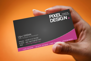 Business Card - Sample by Mottcalem