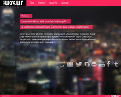 Personal Web Site Design by Mottcalem