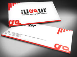 Business Card Design by Mottcalem