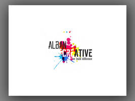 Alban Creative New Logo Design by Mottcalem