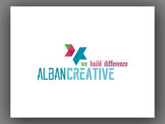 Alban Creative New Logo Design by Mottcalem