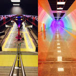 Metro in Istanbul by Mottcalem