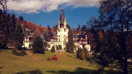 Peles Castle by Mottcalem
