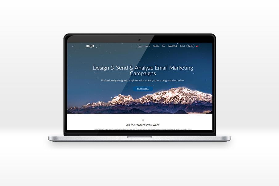 INBOX Web Design Project by Mottcalem