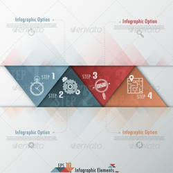 Modern Infographics Options Banner by LuxAeternaDesign