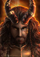 Thorin Oakenshield - Dragon Sickness by FlorideCuts