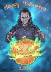 Happy Halloween 2018 by FlorideCuts