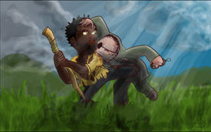 Eko vs Mikhail by santiagodn