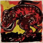 DSC Devil Dinosaur by Hieloh