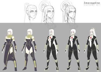 Smaragdine concept by Samuelzadames