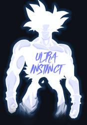 Ultra Instinct Goku by Samuelzadames