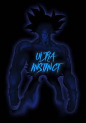Ultra Instinct Goku [reverse version] by Samuelzadames