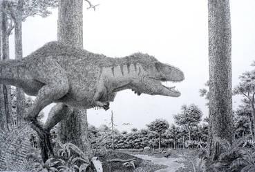 Appalachiosaurus. by Frank-Lode