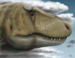 Tarbosaurus. by Frank-Lode