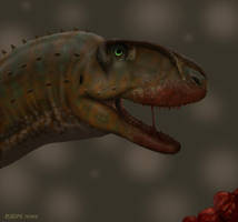 Rugops primus. by Frank-Lode