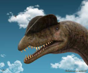 Dilophosaurus wetherilli. by Frank-Lode