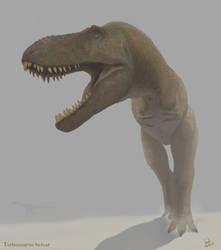 Tarbosaurus bataar by Frank-Lode
