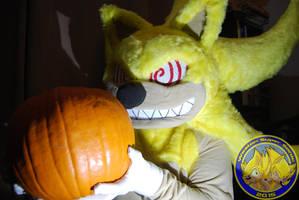 Fleetway Super Sonic costume Halloween reveal by Vixen-T-Fox