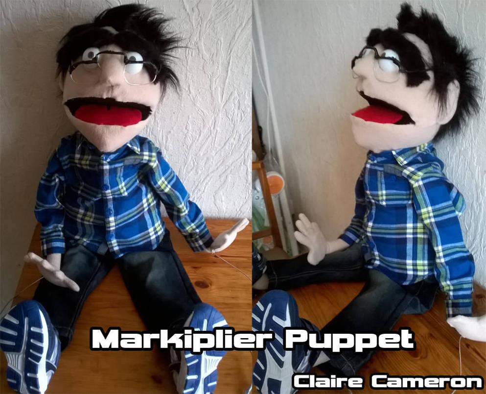 Markiplier Puppet by Vixen-T-Fox