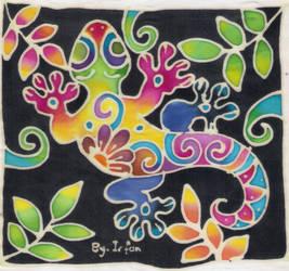 Lizard Batik by IrfanAzmi