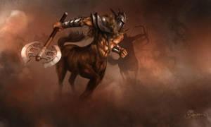 Centaur by petr-bukovjan