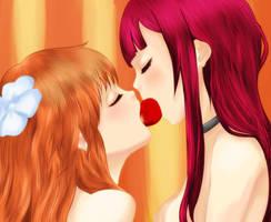 Strawberry Kiss by Hita-san