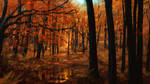Autumn forest 2018 by Sketchbookuniverse
