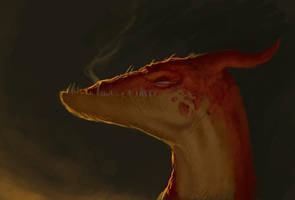 Dragon sketch by Murfish