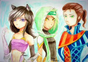 APHMAU, RUNE, SIMON by Neonnyagic