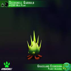 Seedshell Garbulb #3289 by Visioku