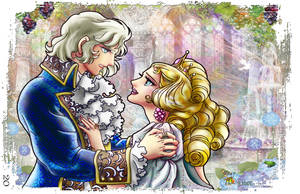 Marie Antoinette and Fersen by CrazyHunkLord