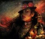 Lackadaisy Demon-rum by tracyjb