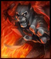 Lackadaisy Fire-fight by tracyjb