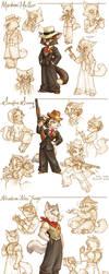 Lackadaisy Marigold by tracyjb