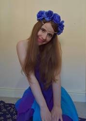 Flower girl by FaerySayles