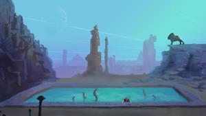 gamesketch 13: Another World by ixaarii